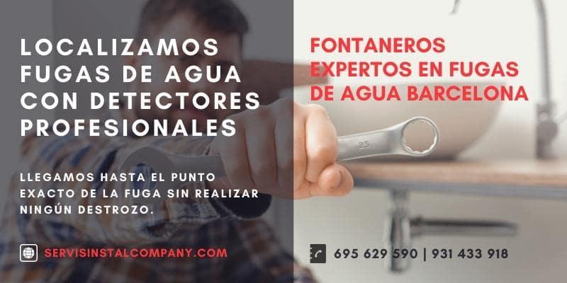 deteccion fugas de agua barcelona
