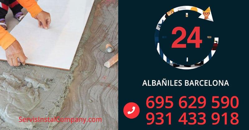 Albañiles-barcelona
