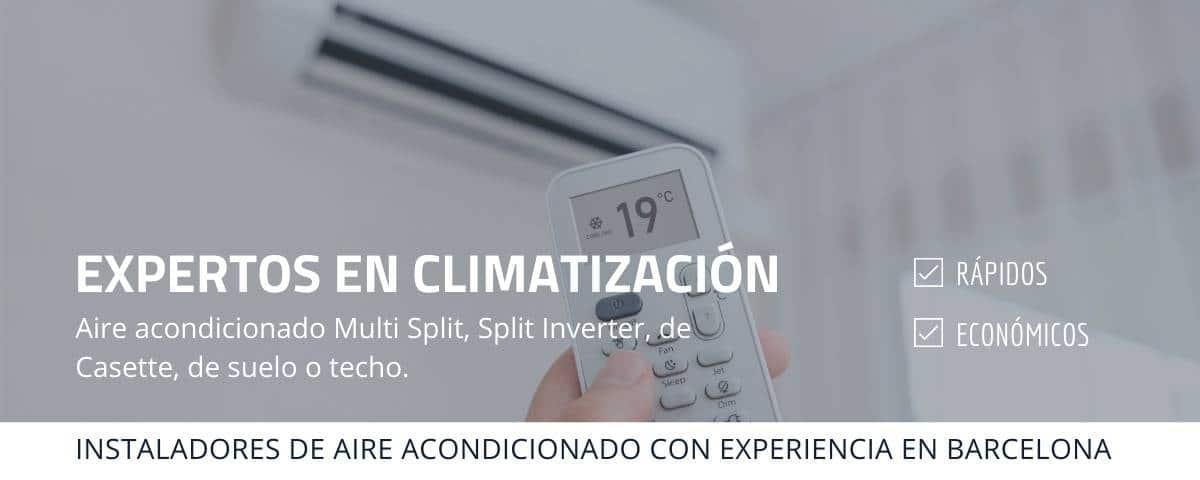 Expertos en climatización Barcelona