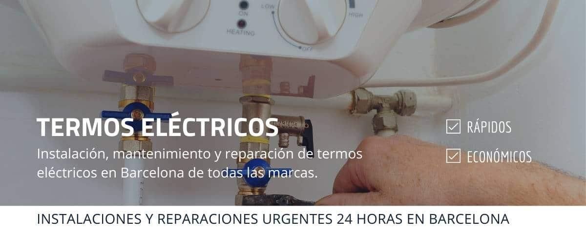 Termos eléctricos Barcelona