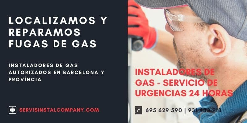 Instaladores de gas 24 horas Barcelona